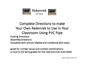Rekenrek--How To Make Your Own Using PVC Pipe
