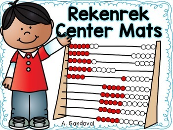 Rekenrek Math Center Mats