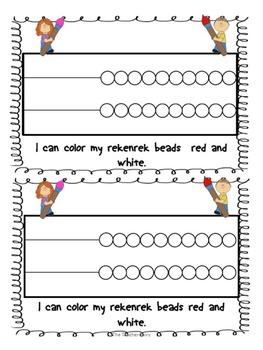 Rekenrek Math Emergent Reader