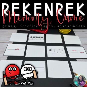 Rekenrek Memory Game