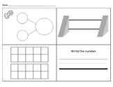 Rekenrek - Number Bonds - Ten Frames Recording Sheet