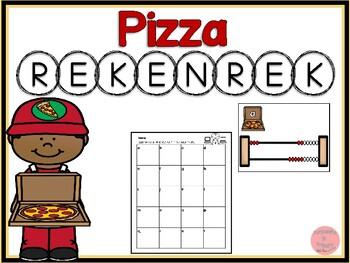 Rekenrek Pizza! Numbers 1-20