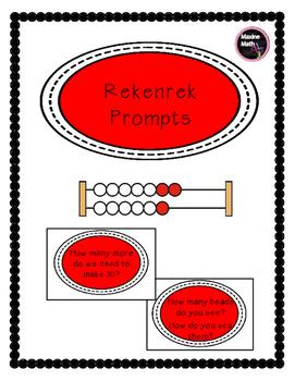 Rekenrek Prompt Cards