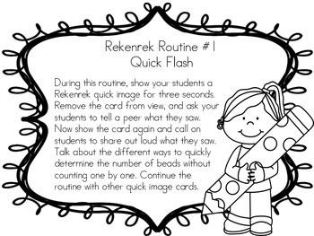 Rekenrek Quick Image Cards