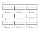 Rekenrek Recording Sheet