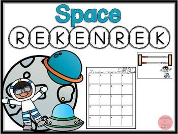 Rekenrek Space! Numbers 1-20