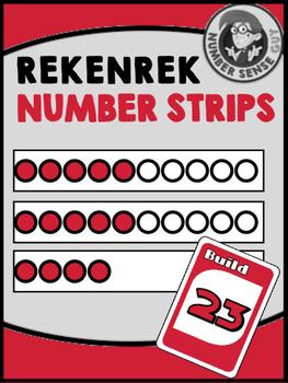 Rekenrek Strips