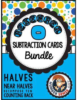 Rekenrek Subtraction Strategy Cards Combo Pack