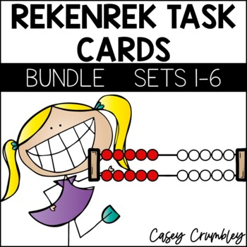 Rekenrek Task Card BUNDLE Over 400 Cards!