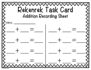 Rekenrek Task Cards