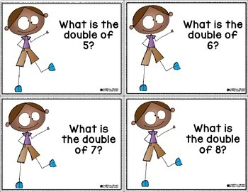 Rekenrek Task Cards Set 6 Doubles Talk Number Talks Number Sense