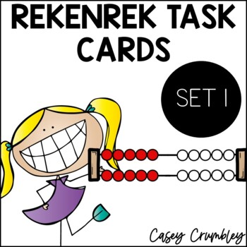 Rekenrek Task Cards Talk Cards Number Talks Number Sense