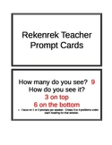 Rekenrek Teacher Prompt Cards