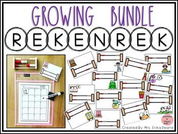 Rekenrek Themed Bundle! Numbers 1-20