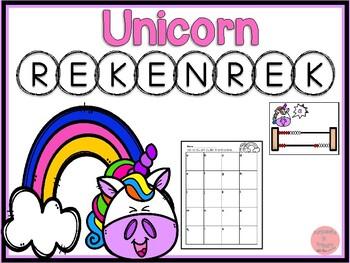 Rekenrek Unicorns! Numbers 1-20