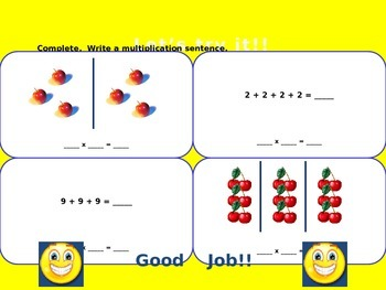 Relate Addition and Multiplication