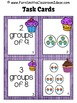 3rd Grade Go Math Chapter 3 - 3.2 Relate Addition and Multiplication Task Cards