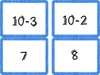 Relate Addition to Subtraction to 13 Common Core Aligned Math Center