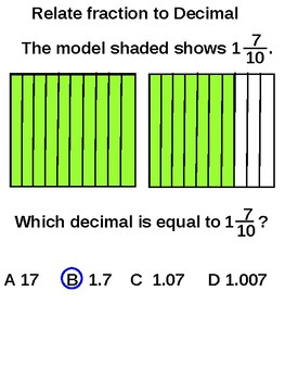 Relate Decimals and Fractions