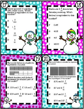 Relate Decimals to Fractions (TEKS 4.2G)
