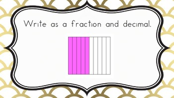 Relate Fractions and Decimals- Common Core