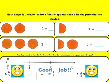 Relate Fractions and Whole Numbers