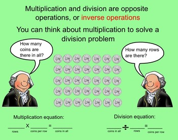 Relate Multiplication and Division-Smart board Activity-3rd Grade Go Math!