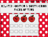 Related Addition & Subtraction Facts of Ten! Interactive G