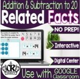 Related Addition & Subtraction Facts to 20 Digital Center