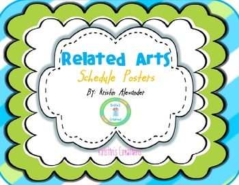 Related Arts Labels -Freebie!