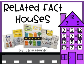 Related Fact Family Houses and Activities