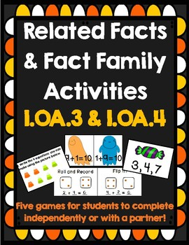 Related Fact Halloween Games OA.3, OA.4