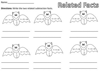 Related Facts - Bat Theme