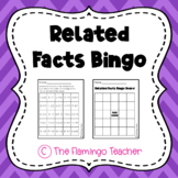 Related Facts Bingo (First Grade Go Math 5.3)