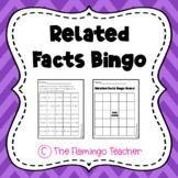 Related Facts Bingo (First Grade Go Math 5.3)