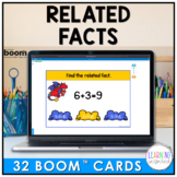 Related Facts Boom™ Cards | Distance Learning