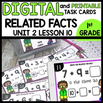 Related Facts DIGITAL TASK CARDS | PRINTABLE TASK CARDS