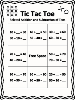 Related Facts Using Tens