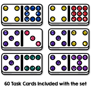 Related Math Facts - Diving For Dominoes