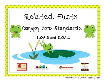 Related Math Facts for Common Core Standards