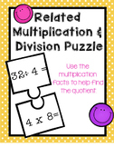 Related Multiplication and Division