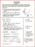 Related Rates AP Questions