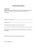 Related Rates Practice Problems Walk Through