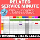 Related Service Minute Tracker