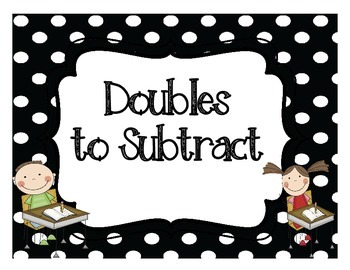 Related Subtraction Double Facts Display Posters