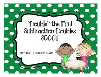 Related Subtraction Doubles Fact Scoot