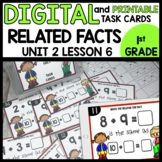 Related Ten Facts DIGITAL TASK CARDS | PRINTABLE TASK CARDS