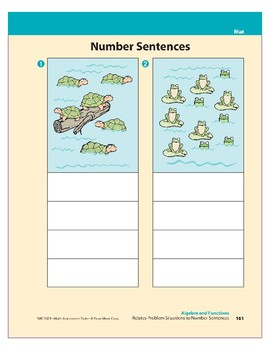 Relates Problem Situations to Number Sentences