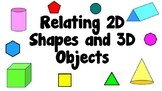 Relating 2D Shapes and 3D Objects