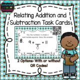 Relating Addition and Subtraction Task Cards